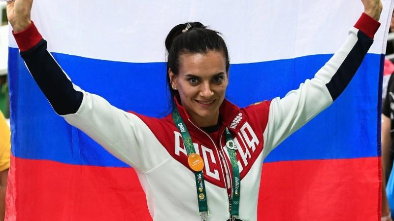 Jeļena Isinbajeva Foto: Aleksandrs Viļfs, rsport.ru