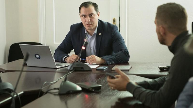 Sandis Riekstiņš. Foto: Saeimas preses dienests