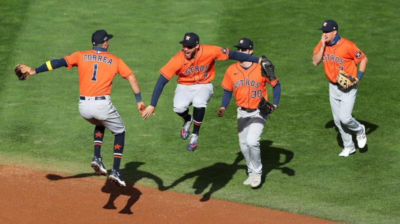 """Hjūstonas """"Astros"""" Foto:AFP/Scanpix"""