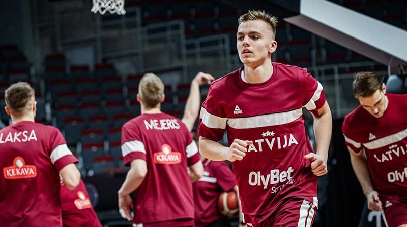 Artūrs Žagars. Foto: FIBA