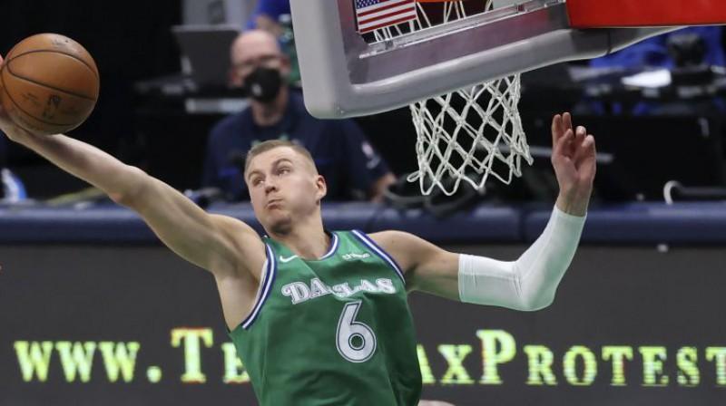 Kristaps Porziņģis. Foto: USA Today Sports/Scanpix