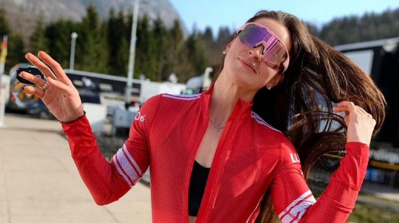 Jūlija Stupaka. Foto no sportistes sociālo tīklu profila.
