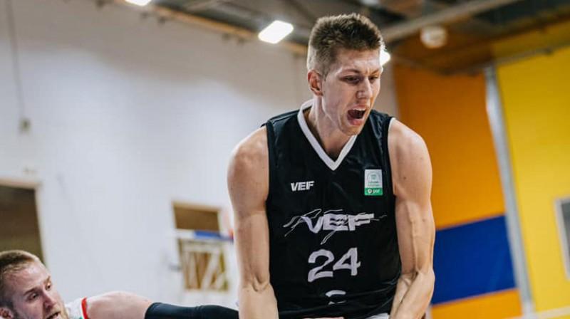 Aleksandrs Madsens. Foto: VEF Rīga