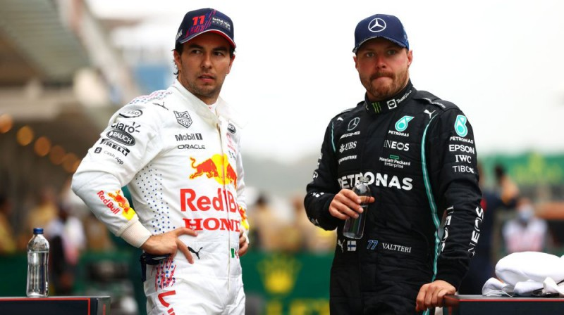 Serhio Peress un Valteri Botass. Foto: Motorsport.com