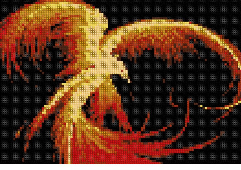 Izšūšanas shēmas ar putnu attēliem taviem rokdarbiem