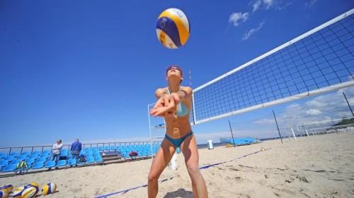 Aicina uz Eiropas pludmales volejbola čempionāta atklāto treniņu Majoros