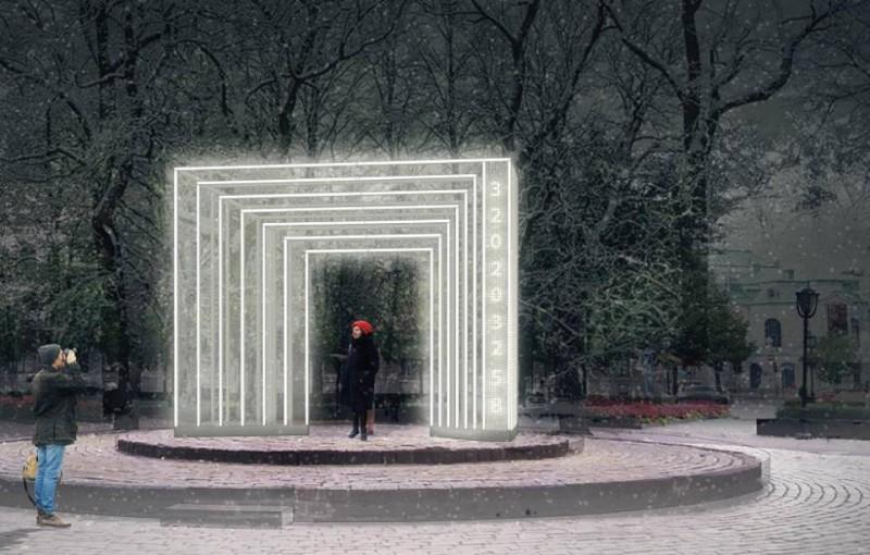 """Vides mākslas objekts """"Laika ādere"""" sāks laika atskaiti līdz Latvijas valsts simtgadei"""