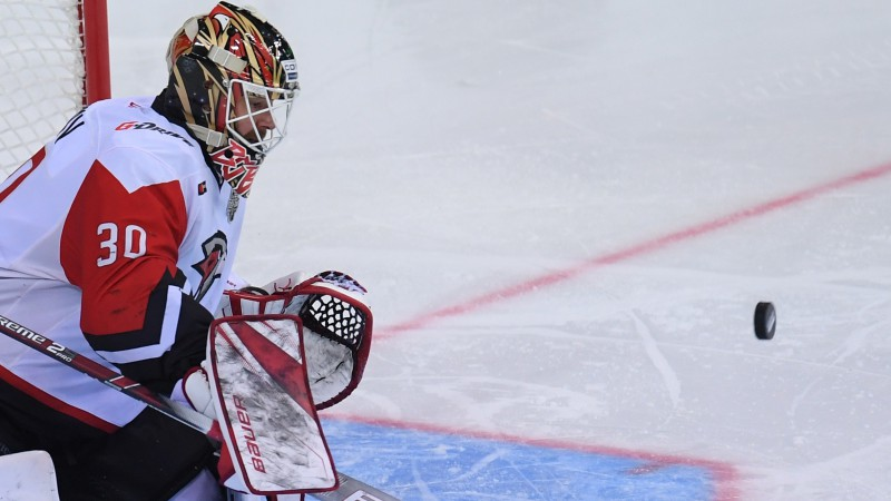 """""""Avangard"""" vārtsargs Bobkovs: """"KHL laukumu dažādie izmēri ir elle"""""""