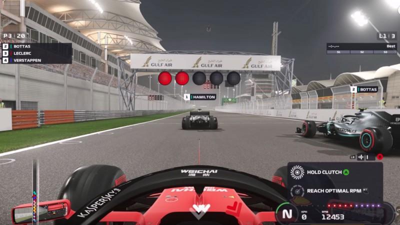 Publisko iespaidīgu sastāvu virtuālā F1 čempionāta otrajam posmam