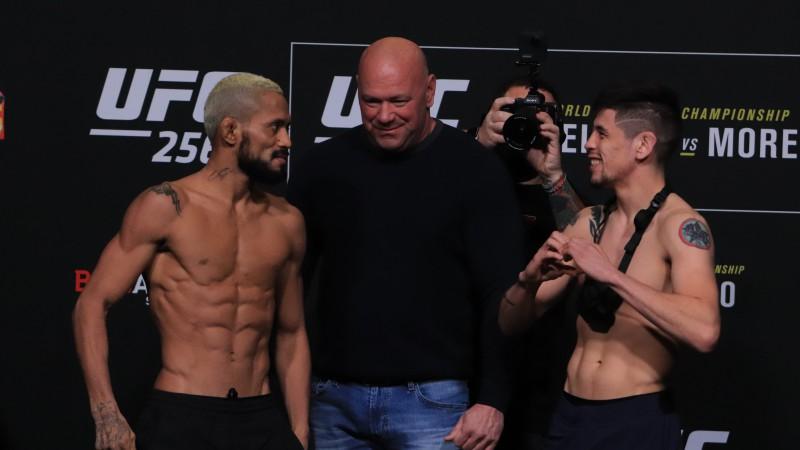 Figeiredu otrā UFC titulcīņa 21 dienas laikā, Fērgusonam atgriešanās pēc sakāves