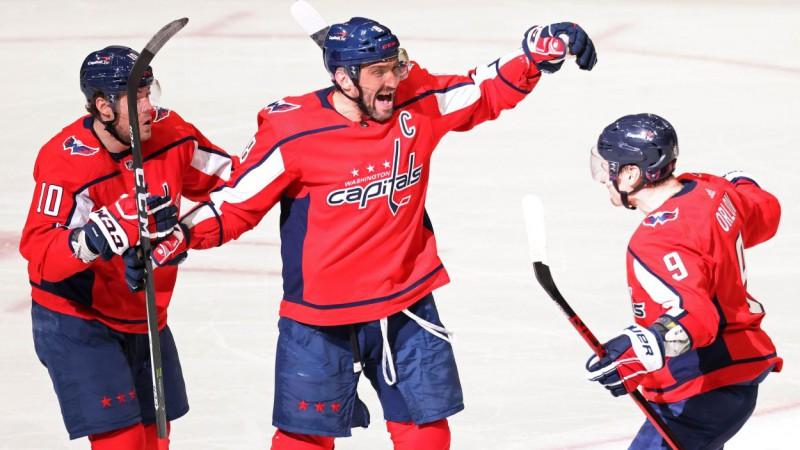 """""""Sharks"""" bez Balcera zaudē, Ovečkina dublis ļauj """"Capitals"""" uzvarēt septīto reizi pēc kārtas"""