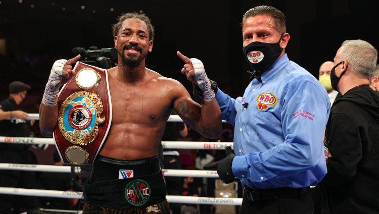 Andrade nosargā WBO titulu, Progreisa cīņa beidzas ar tēlošanas skandālu