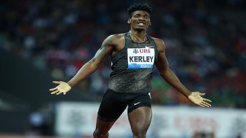 Kerlejs kļūst par sezonas līderi 100m un pievienojas ekskluzīvam klubiņam