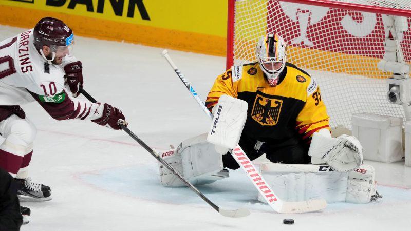 Latvija zaudē Vācijai un neiekļūst pasaules čempionāta 1/4 finālā