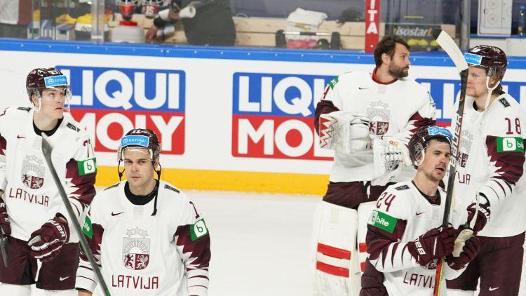 Latvijas izlase Rīgā: bez spilgtiem līderiem un ar zemāko vietu PČ Hārtlija ērā