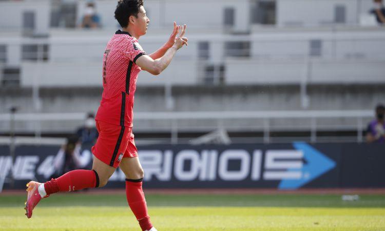 Sons ar veltītiem vārtiem Ēriksenam izrauj Dienvidkorejas uzvaru PK kvalifikācijā