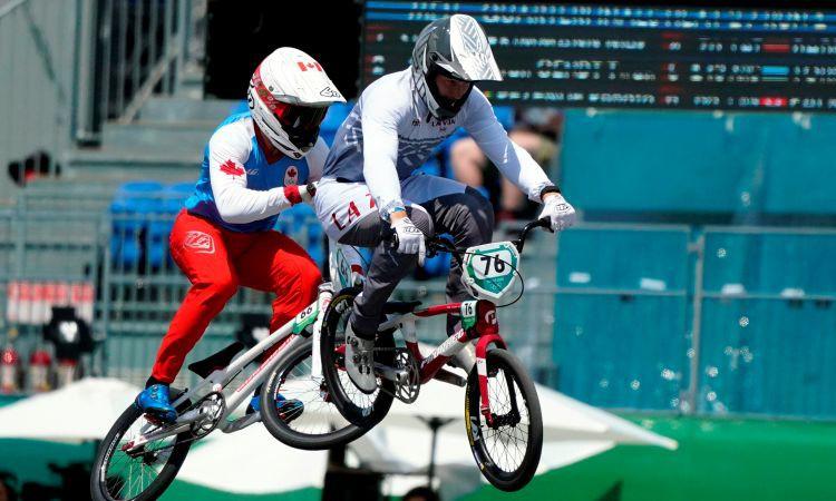 Olimpiskie debitanti Babris un Pētersone nesasniedz BMX pusfinālu