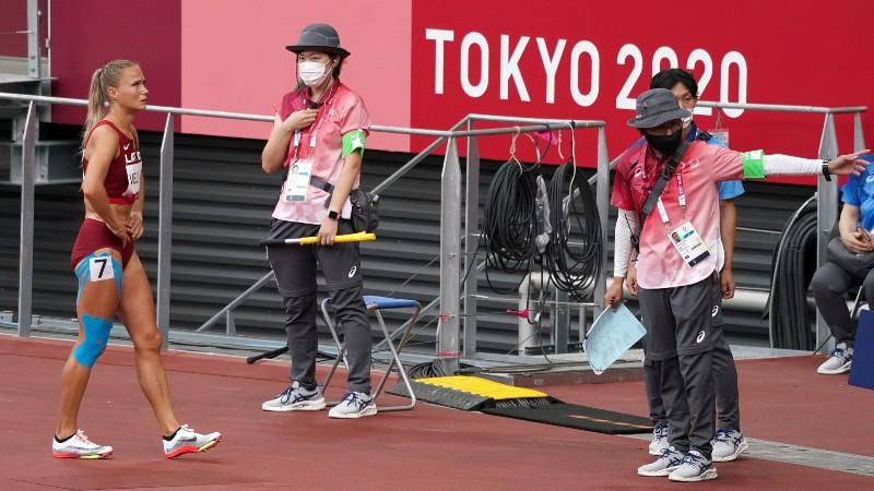 Skrējēja Velvere olimpiskajās spēlēs debitē ar izstāšanos pirmajos metros