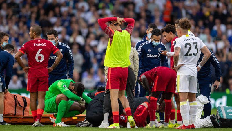 """Smagu savainojumu guvušajam """"Liverpool"""" pussargam Eliotam tiks veikta potītes operācija"""
