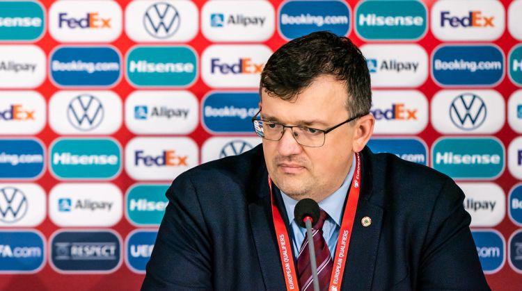 """Kazakevičs: """"Liela vilšanās par rezultātu, jo puiši bija pelnījuši vairāk"""""""